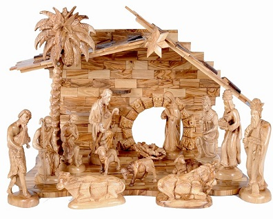 *About The Nativity Manger: The Manger And Nativity Stable Are Sometimes  Confused. The Stable Was The Structure In Which Jesus Was Born.
